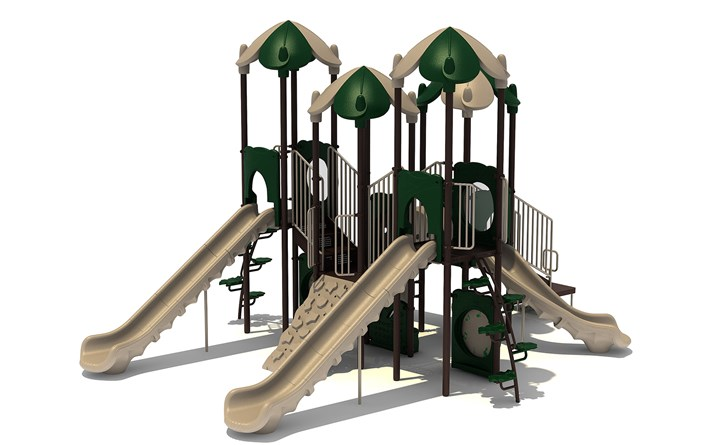 Commercial Playground Equipment KP-16ABDDR-LAYOUT-B-2