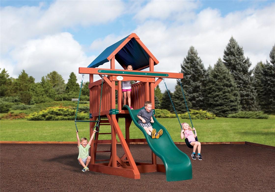 Adventure Treehouse Junior Space Saver Tarp Roof