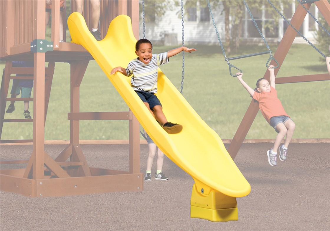 Rocket Slide 10' Yellow