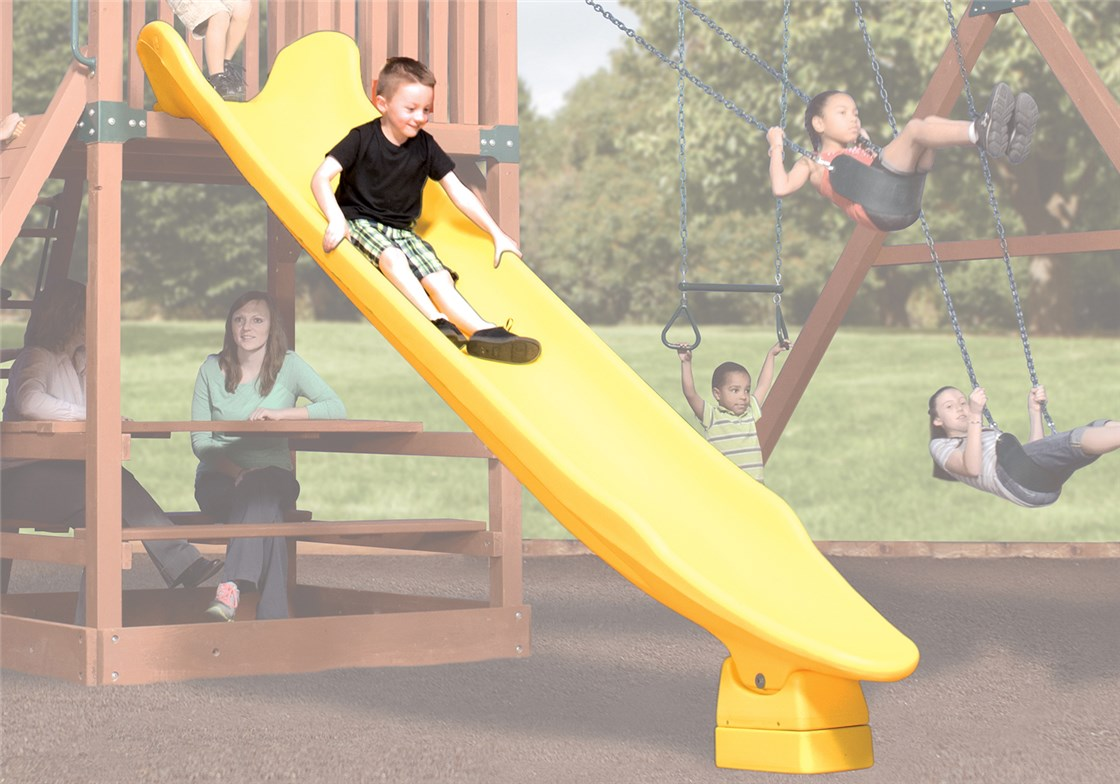 Rocket Slide 12' Yellow