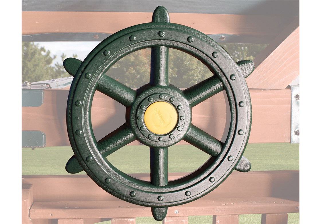 Ship's Wheel Green