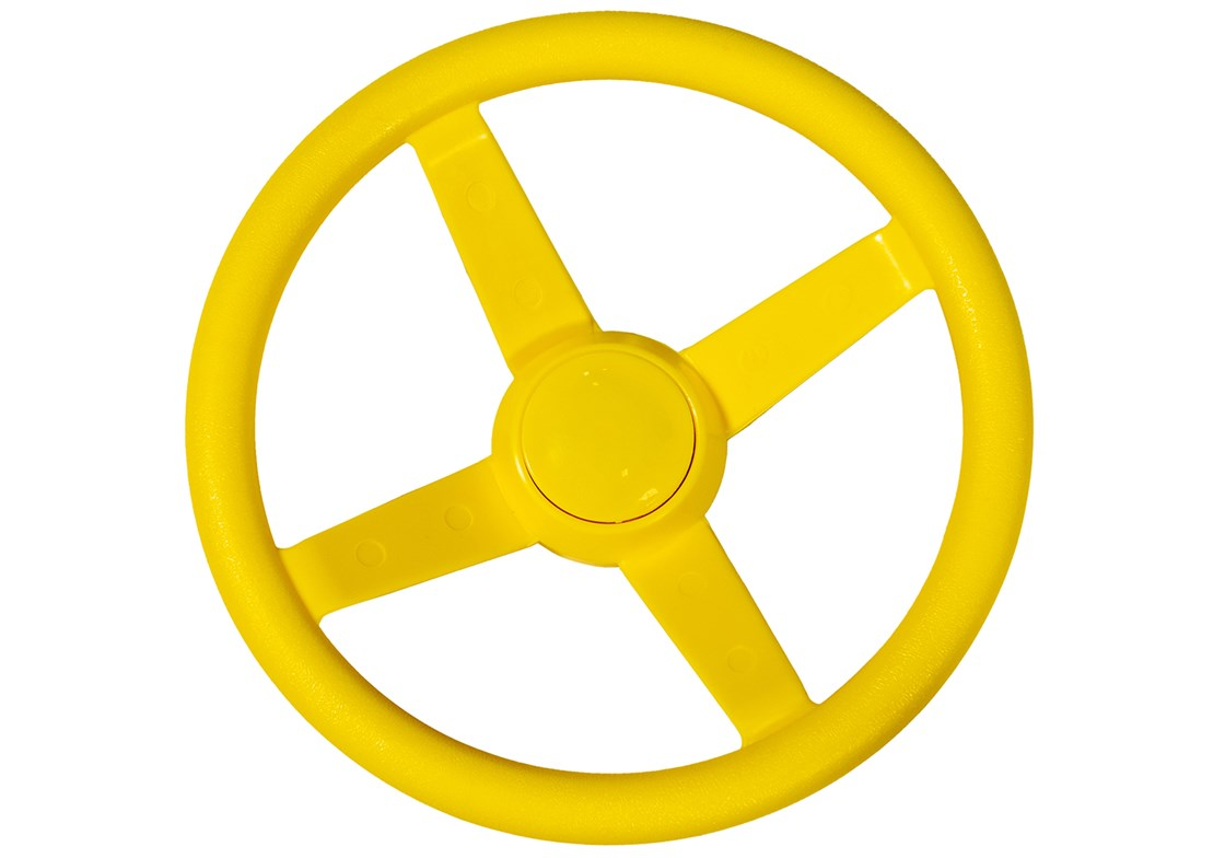 Steering Wheel Yellow