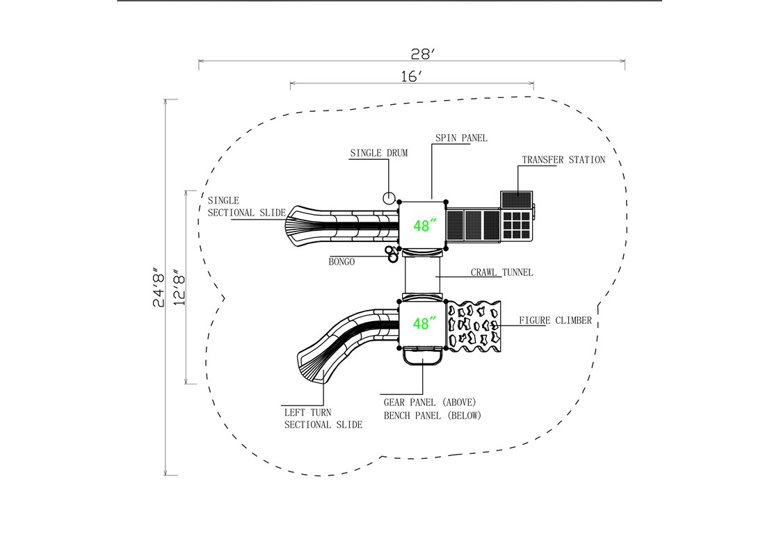 KP-16AB-Layout-B-CAD-Topview