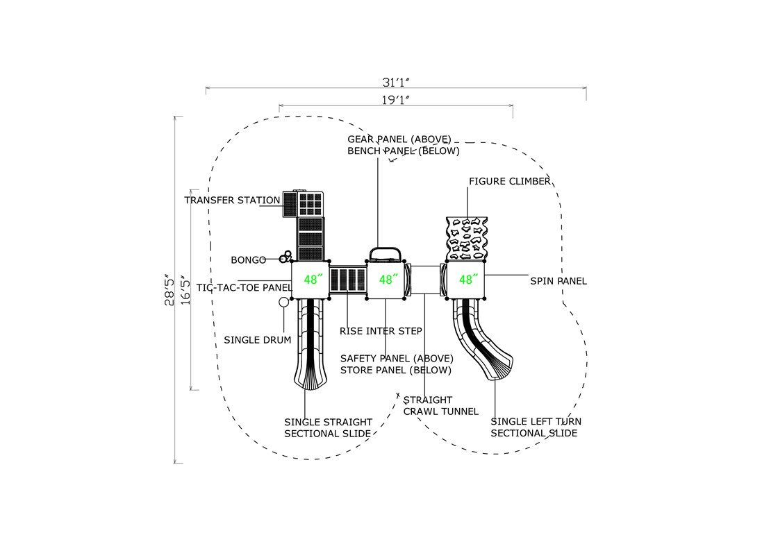 KP-16ABC-Layout-B-CAD-Topview