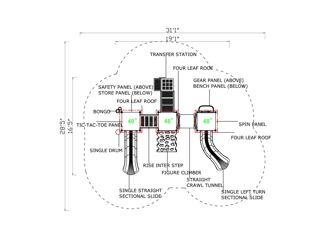 KP-16ABCR-Layout-C-CAD-Topview