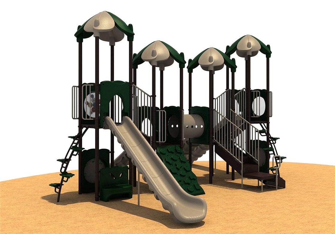 Quick Ship Playground ABDD w/ Roof
