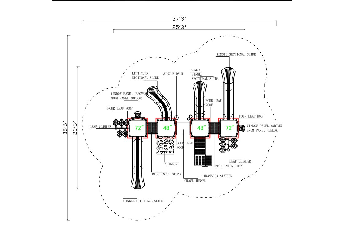 KP-16ABDDR-Layout-A-CAD-Topview