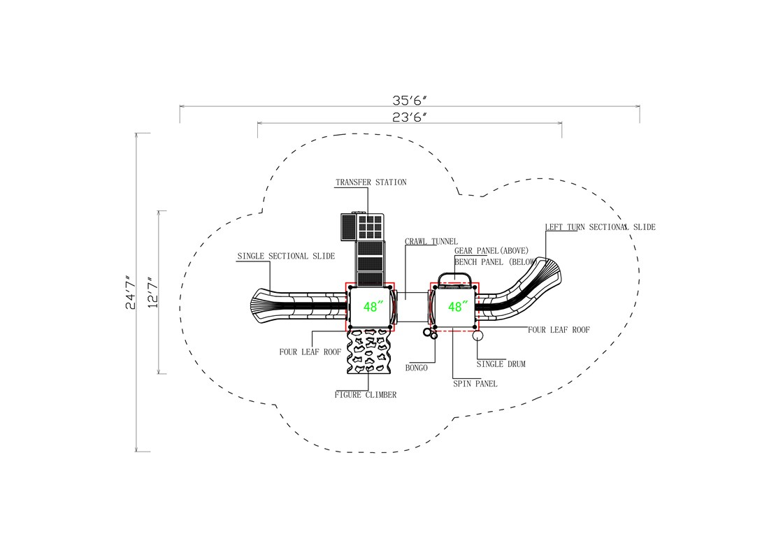 KP-16ABR-Layout-A-CAD-Topview