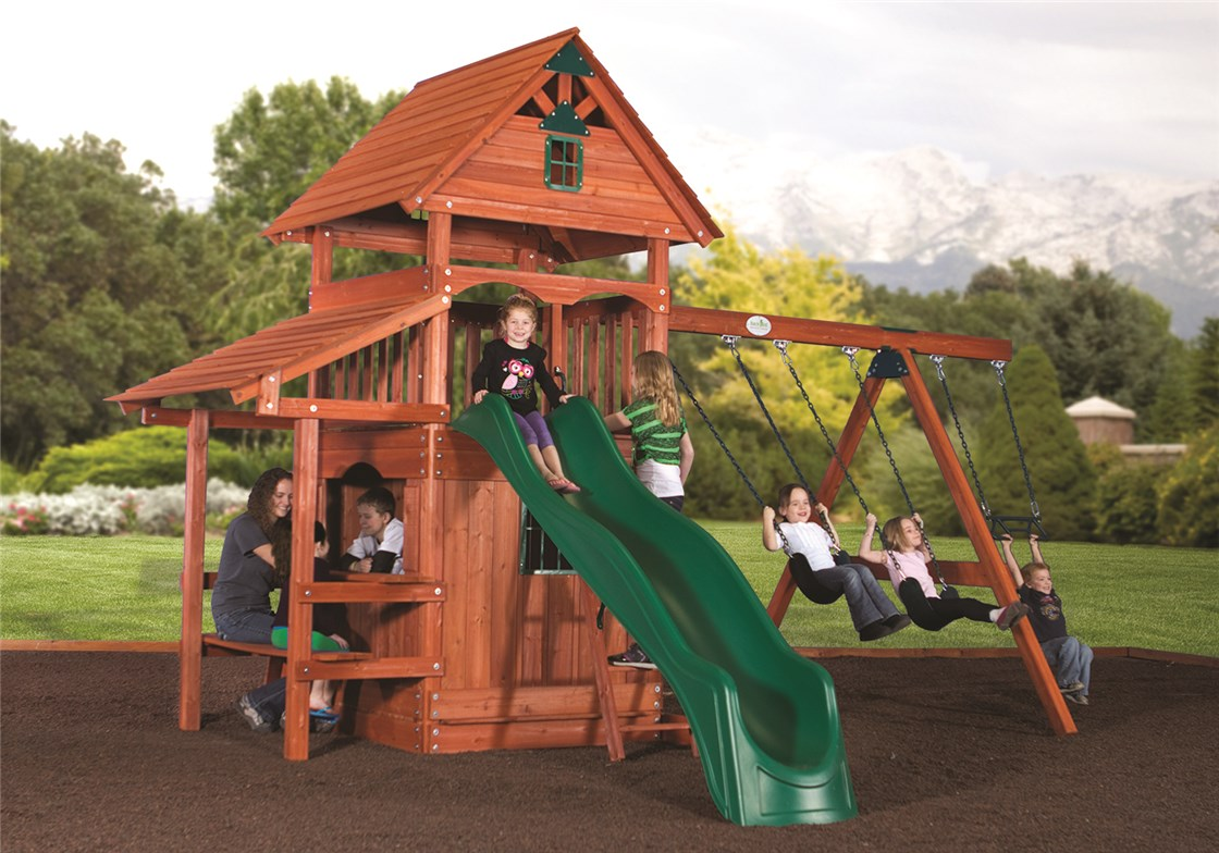 Yosemite Wooden Swing Set