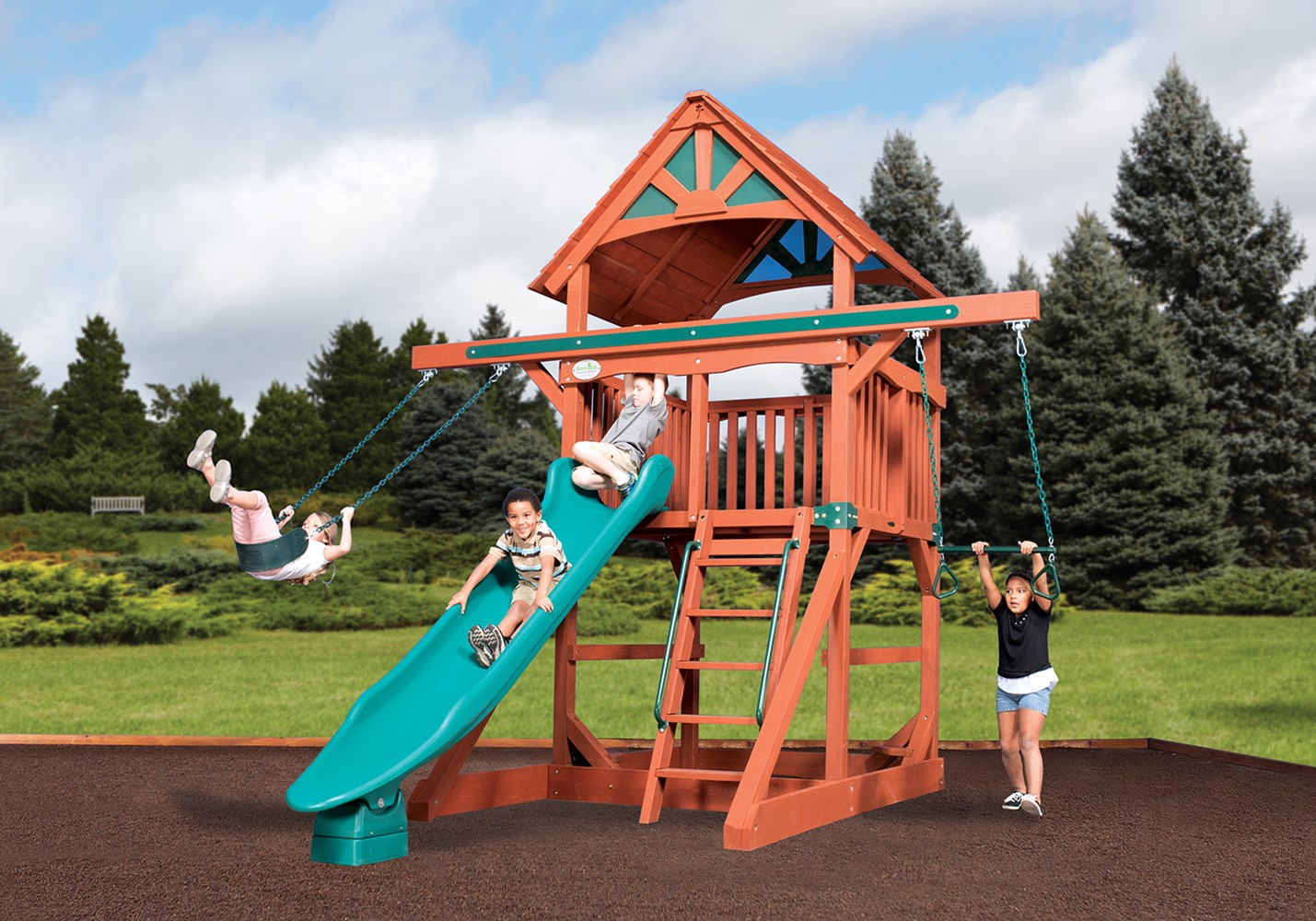 Backyard Playsets Backyard Swing Sets Backyardadventures Com