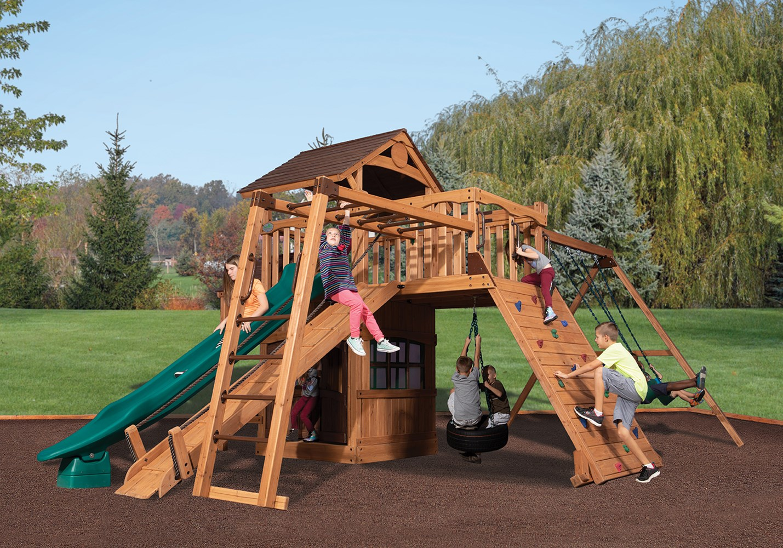 Backyard Playsets Backyard Swing Sets Backyardadventures Com
