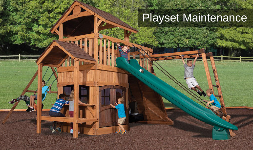5 tips for playset maintenance