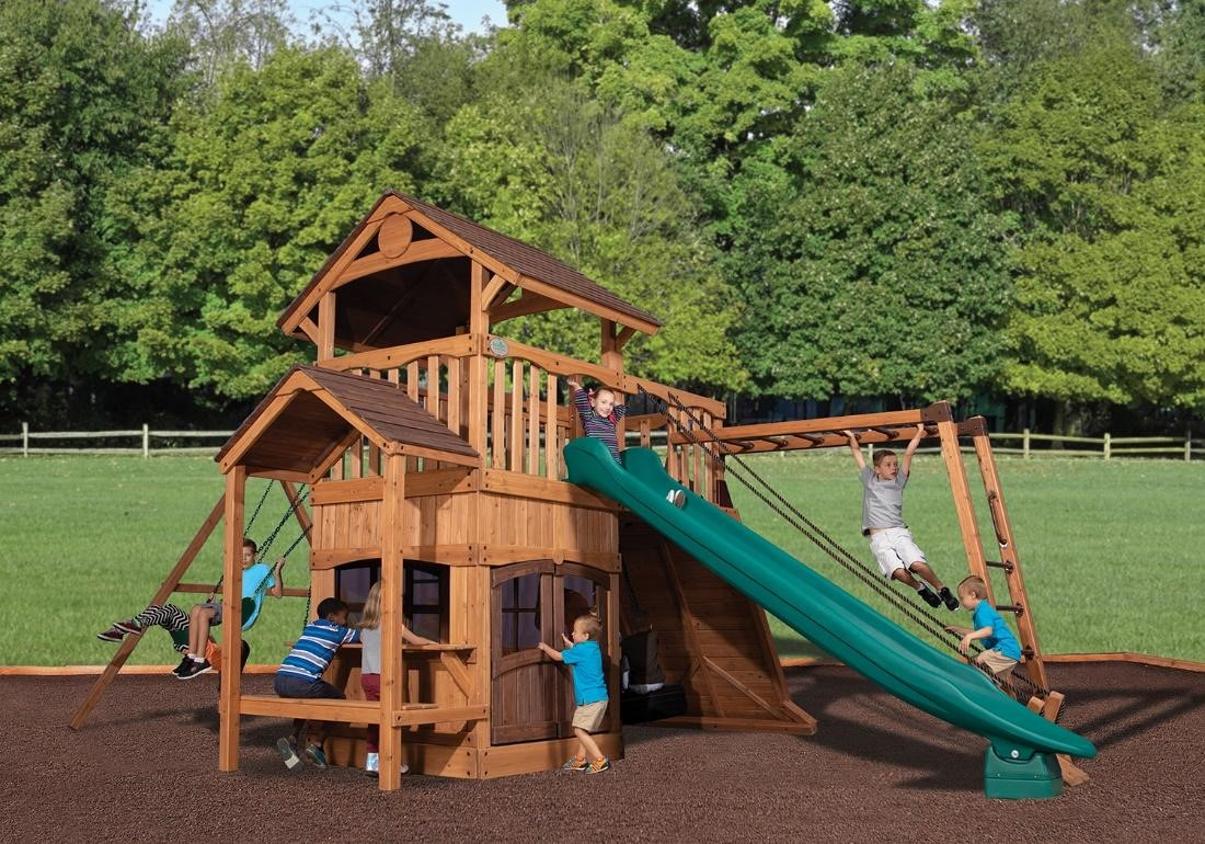 What's new in backyard wooden playsets? !