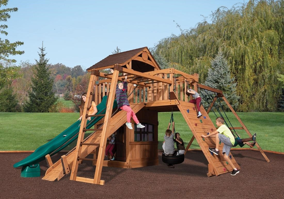 What's new in backyard wooden playsets? 2
