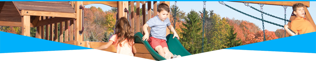 Wooden Swing Sets & Wooden Playsets